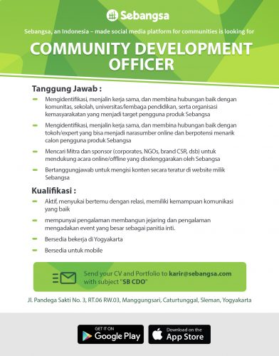 Community Development Officer