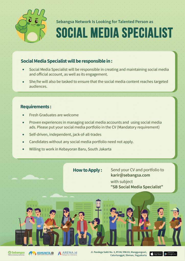 Social Media Specialist - Sebangsa Network