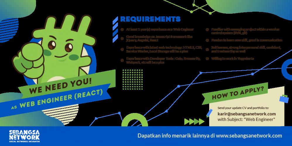 Web Engineer (React)