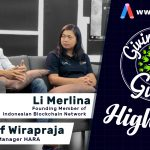 GIVING BACK GURUS HIGHLIGHT BLOCKCHAIN 101 : ANATASOF WIRAPRAJA & LI MERLINA