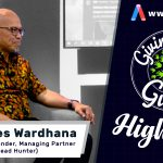 GIVING BACK GURUS HIGHLIGHT FUTURE JOBS & CAREERS: JOHANNES WARDHANA
