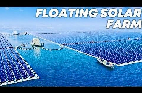 Biggest Floating Solar Farm In The World - TechDivision YT