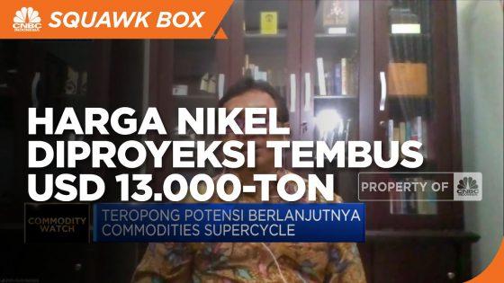 Tren Mobil Listrik, Harga Nikel Berpeluang Terus Naik - Source : CNBC Indonesia Yt